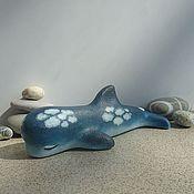 Куклы и игрушки ручной работы. Ярмарка Мастеров - ручная работа Облачный дельфинчик. Handmade.