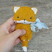 Куклы и игрушки ручной работы. Ярмарка Мастеров - ручная работа Мягкие зверята. Handmade.