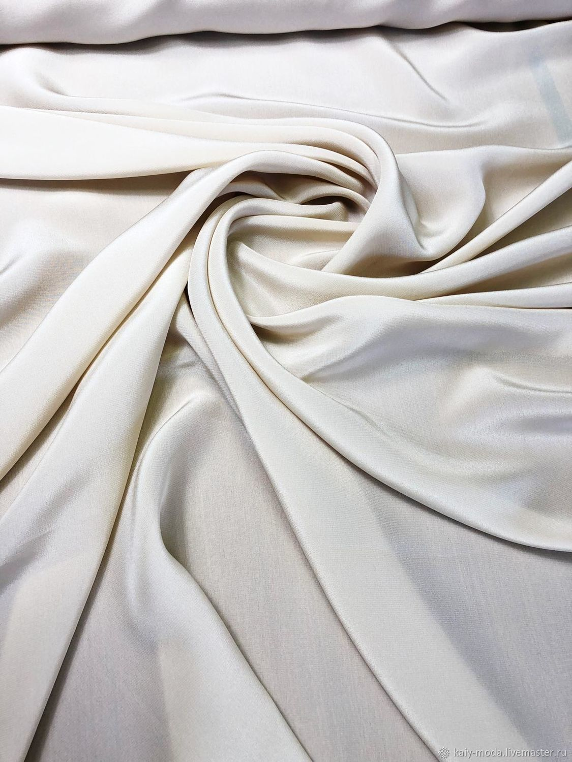 Crepe silk 'Versace' - flesh, Fabric, Moscow,  Фото №1