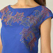 Одежда handmade. Livemaster - original item Blouse blue