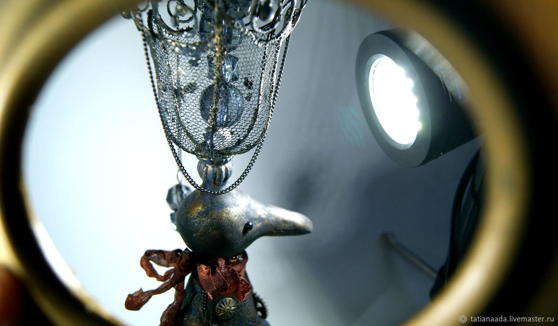 """Коллекционная арт-кукла""""Механическая Птица №7"""", Интерьерная кукла, Камышин,  Фото №1"""