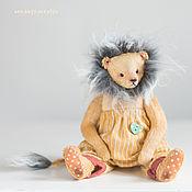 """Мягкие игрушки ручной работы. Ярмарка Мастеров - ручная работа """"Миха-лев"""". Handmade."""