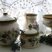 Для дома и интерьера ручной работы. Ярмарка Мастеров - ручная работа Кухонный набор Виола. Handmade.