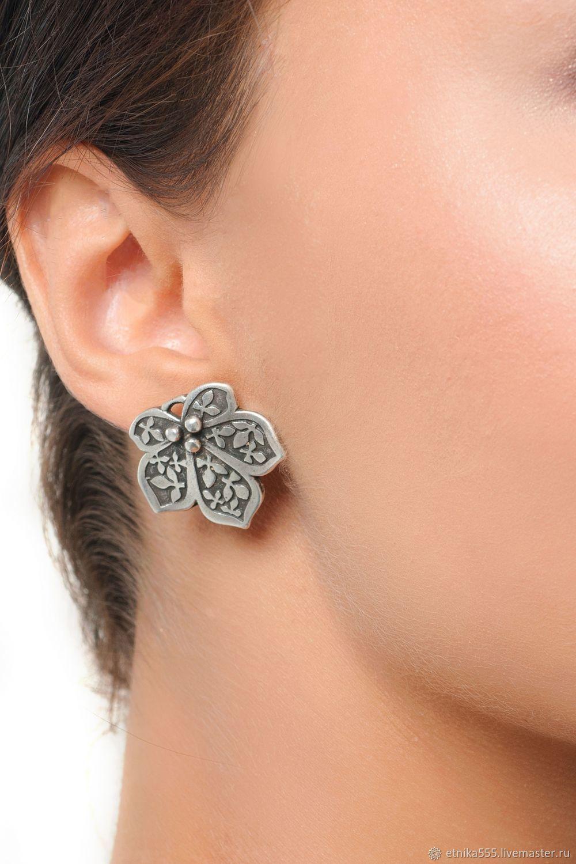 Chestnut Earrings, Stud earrings, Belaya Cerkov,  Фото №1