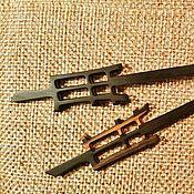 Украшения handmade. Livemaster - original item Hairpin wooden Zen wand, ebony, hair stick. Handmade.