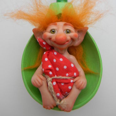Куклы и игрушки ручной работы. Ярмарка Мастеров - ручная работа Домовой Васютка. Handmade.