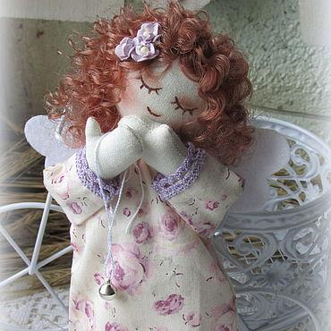 Dolls & toys handmade. Livemaster - original item Angel textile Sonyushka. Handmade.