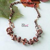 Украшения handmade. Livemaster - original item Necklace under the neck