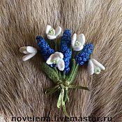 Украшения ручной работы. Ярмарка Мастеров - ручная работа Весна продолжается  Букетик. Handmade.