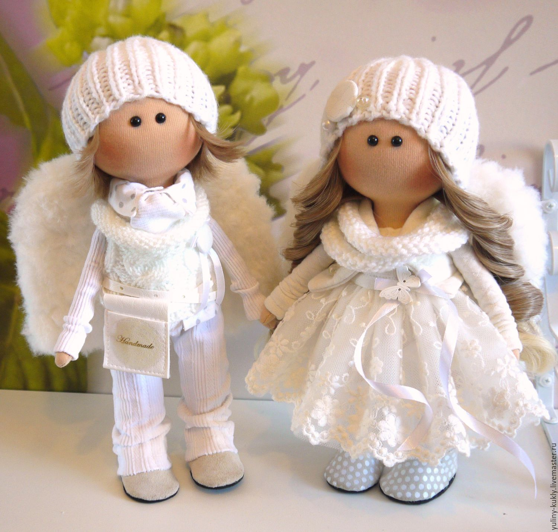 Куклы из ткани мастер класс фото