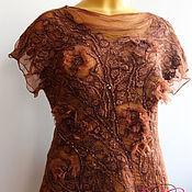 Одежда ручной работы. Ярмарка Мастеров - ручная работа Авторская блузка Бохо-шик. Handmade.