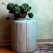 Столы ручной работы. Ярмарка Мастеров - ручная работа Пень - прикроватный столик. Handmade.