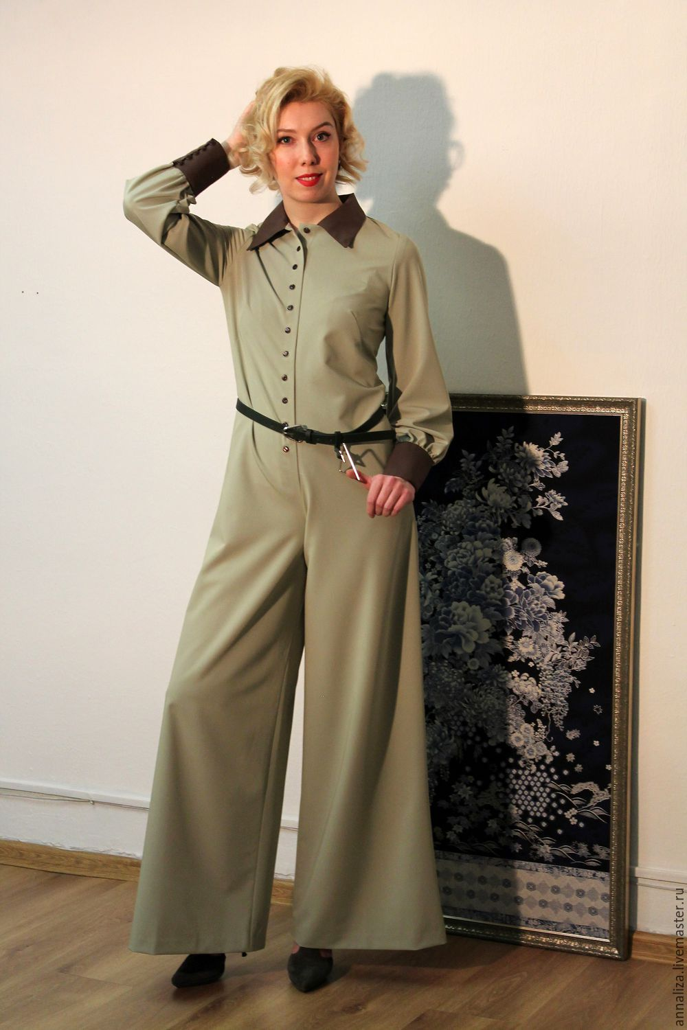 8699c452c6b7 Moda No Time · Jumpsuits handmade. women s jumpsuit in the style of the  70 s.