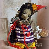 Stuffed Toys handmade. Livemaster - original item Chico the monkey...)). Handmade.