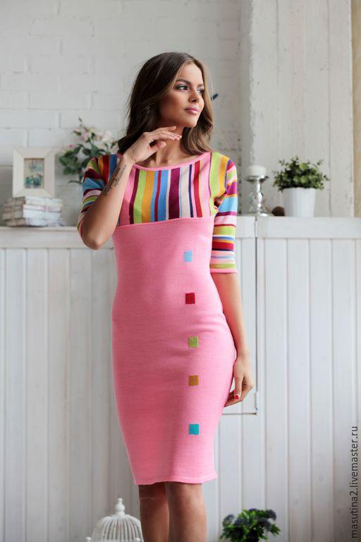 Dress 'Pink flamingos', Dresses, St. Petersburg,  Фото №1
