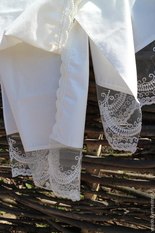 Ручная вышивка на палантине