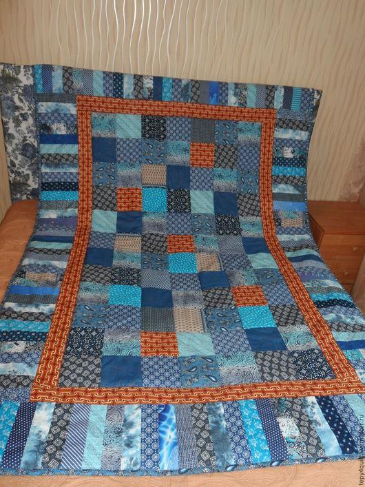 """Текстиль, ковры ручной работы. Ярмарка Мастеров - ручная работа. Купить """"Садко"""". Лоскутное одеяло/покрывало. Handmade. Лоскутное шитье"""