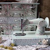 """Для дома и интерьера ручной работы. Ярмарка Мастеров - ручная работа Комплект""""Розово-кружевной"""". Handmade."""