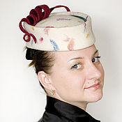 """Аксессуары ручной работы. Ярмарка Мастеров - ручная работа шляпка """"карамелька"""" ардеко. Handmade."""