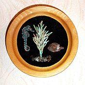 Сувениры и подарки handmade. Livemaster - original item Collection Of Author`s Souvenirs-Plates!!! (clay, # electroplating). Handmade.