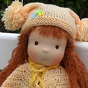 Куклы и игрушки ручной работы. Ярмарка Мастеров - ручная работа Вальдорфская кукла Ариша. Handmade.