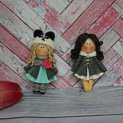 Украшения ручной работы. Ярмарка Мастеров - ручная работа Брошка девочка из полимерной глины. Handmade.