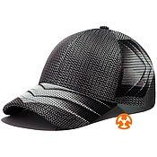 Аксессуары handmade. Livemaster - original item Lightweight baseball cap with Citron Gray print. Handmade.