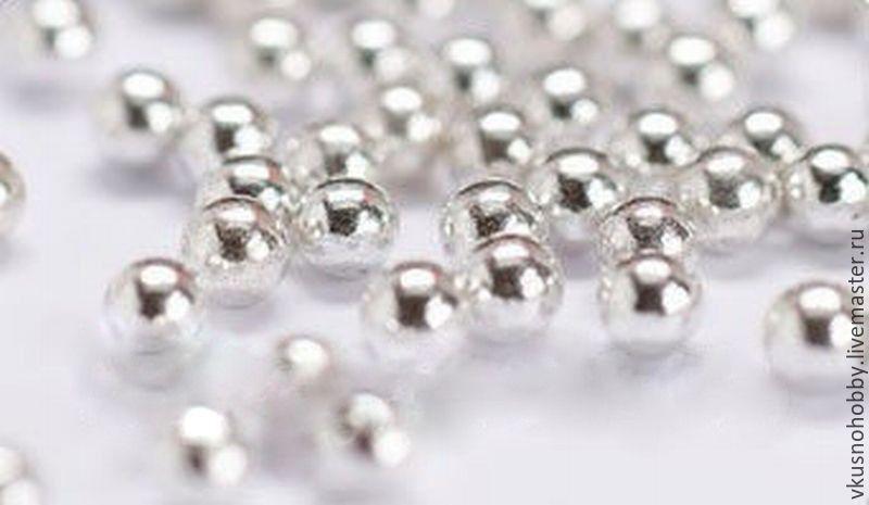 Из чего делают шариков серебряные