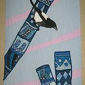 """Картины и панно handmade. Livemaster - original item """"Magpie"""". Handmade."""