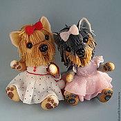 Куклы и игрушки ручной работы. Ярмарка Мастеров - ручная работа Бисерные Йорочки. Handmade.