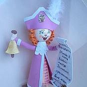 Мягкие игрушки ручной работы. Ярмарка Мастеров - ручная работа Кукла Глашатай первоапрельский,авторская, из фоамирана. Handmade.