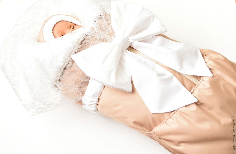 Одеяло на выписку осень своими руками