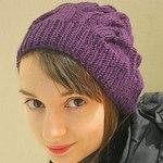 Вязаные шапки из уникальной пряжи (sopranenkova) - Ярмарка Мастеров - ручная работа, handmade