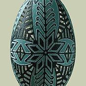 Сувениры и подарки ручной работы. Ярмарка Мастеров - ручная работа Вырезание на яйце страуса Эму. Handmade.