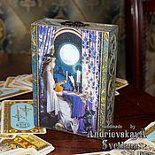 Для дома и интерьера ручной работы. Ярмарка Мастеров - ручная работа Шкатулка для карт Таро Верховная жрица. Handmade.