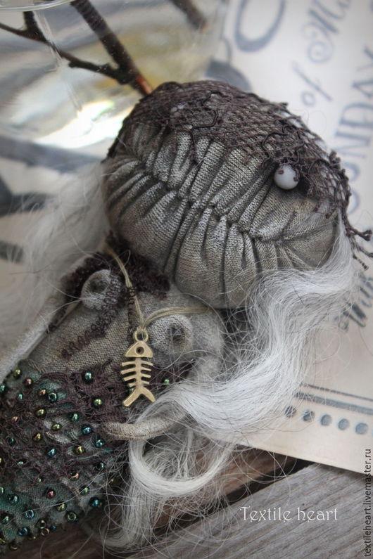 Куклы и игрушки ручной работы. Ярмарка Мастеров - ручная работа. Купить Наяда. Handmade. Комбинированный, чердачные куклы, нимфа, текстиль