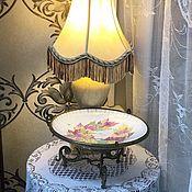 Винтаж handmade. Livemaster - original item The Emperor`s Noon. Fruit dish. 1876 France. Handmade.