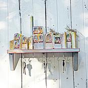 """Для дома и интерьера ручной работы. Ярмарка Мастеров - ручная работа Ключница """"Южный город"""". Handmade."""