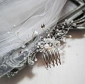 Украшения ручной работы. Ярмарка Мастеров - ручная работа Свадебный гребень для волос. Handmade.