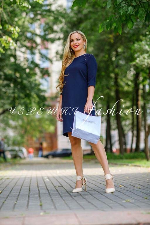 """Платья ручной работы. Ярмарка Мастеров - ручная работа. Купить Платье """"Бусинка"""". Handmade. Платье, осеннее платье, платье по фигуре"""