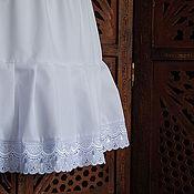 Юбка ручной работы. Ярмарка Мастеров - ручная работа Нижняя юбка для девочки. Handmade.