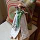 Куклы Тильды ручной работы. Ярмарка Мастеров - ручная работа. Купить Весенний ангел Надюша. Handmade. Тильда ангел, разноцветный