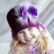 Украсить детскую шапочку своими руками