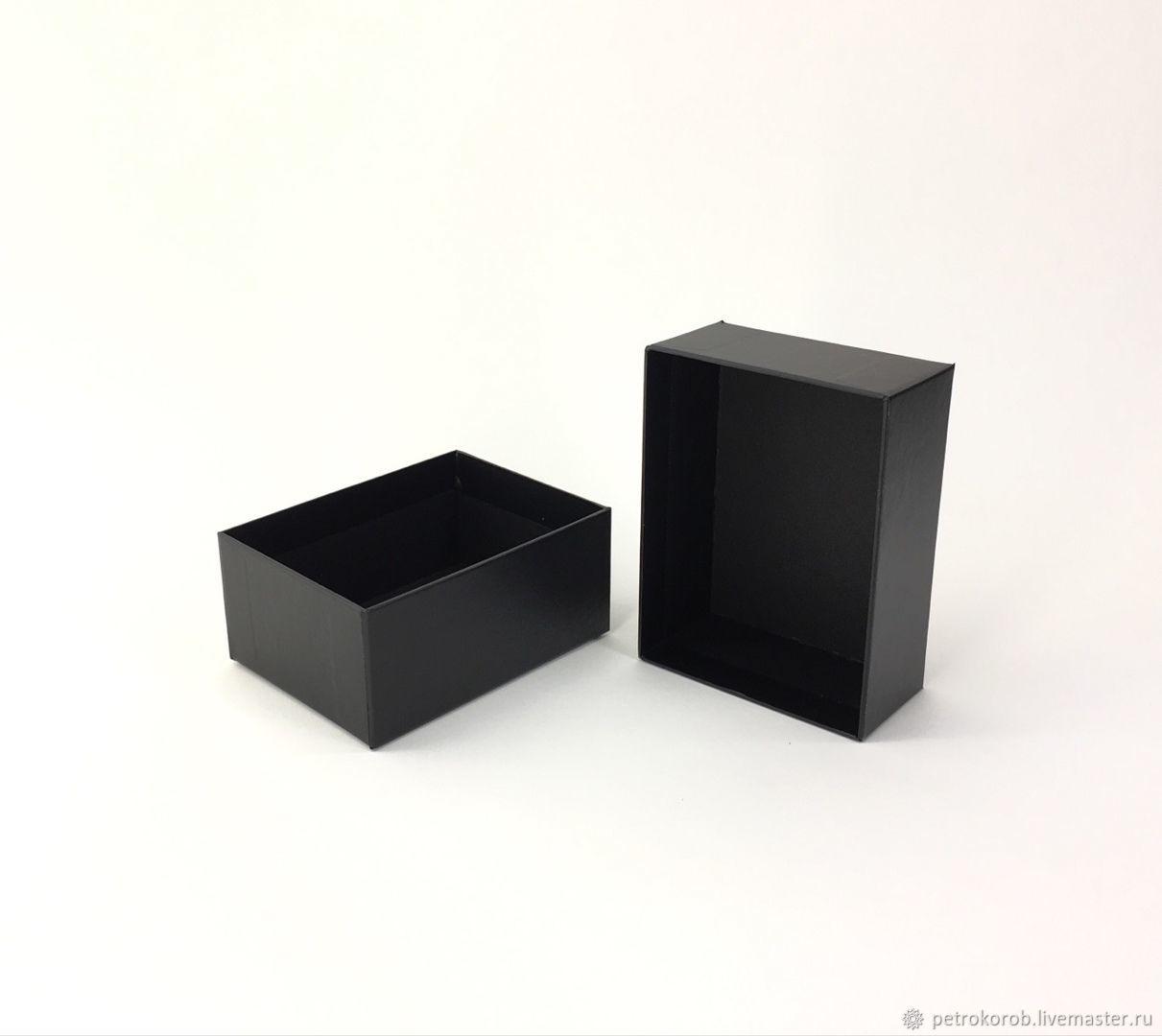Коробка 12х9х5,5 см черная, Коробки, Санкт-Петербург,  Фото №1