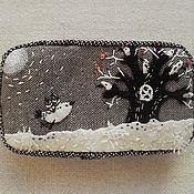 Украшения ручной работы. Ярмарка Мастеров - ручная работа Семь белых птиц. Handmade.