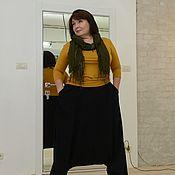 Одежда handmade. Livemaster - original item SALE 50% Pants Vostok linen black. Art. 277. Handmade.