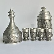 Винтаж handmade. Livemaster - original item Set of tin collection of Successful hunting!. Handmade.