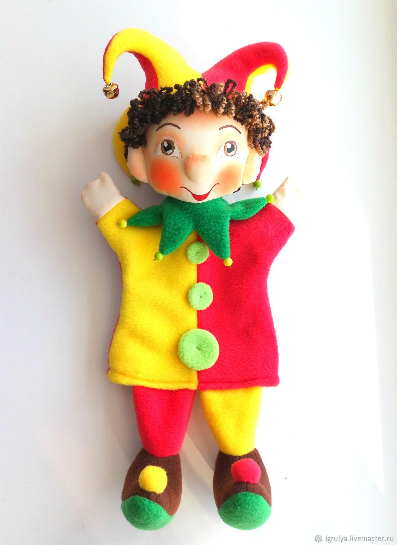 Кукольный театр ручной работы. Ярмарка Мастеров - ручная работа. Купить   Петрушка  - · Кукольный ... 63073ef6749