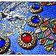 """Часы для дома ручной работы. Ярмарка Мастеров - ручная работа. Купить Сувенирные часы """"Чичеклер"""" (турец. """"Цветы""""). Handmade. марблс"""