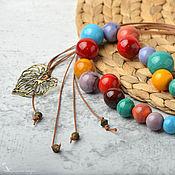 Работы для детей, handmade. Livemaster - original item beads: Southerner glass lampwork. Handmade.